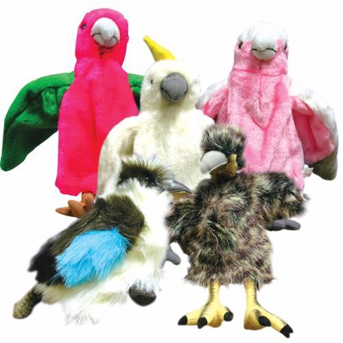 Birds Puppet