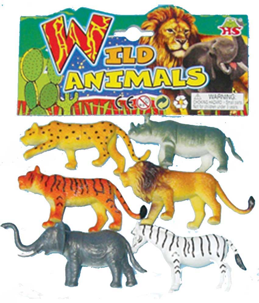 Plastic Wild Animals