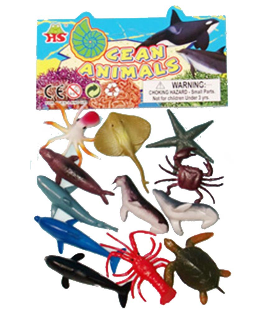Plastic Ocean Animals