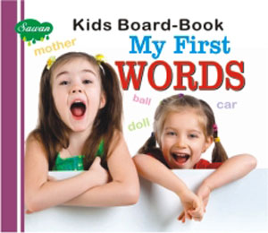Kids Board Book My First Words05