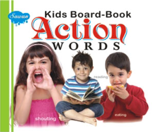 Kids Board Book Action Words