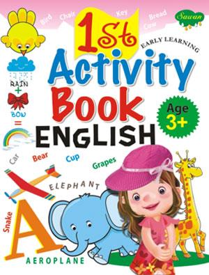 1st Activity Book English  (3+)