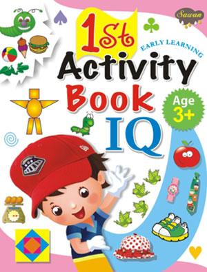 1st Activity Book IQ (3+)