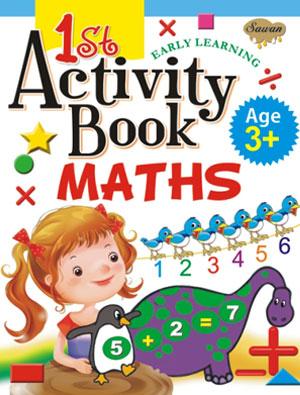 1st Activity Book Maths (3+)