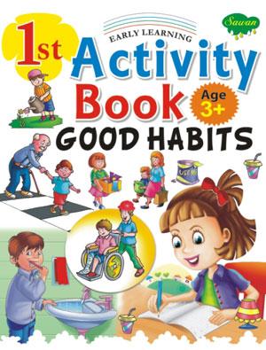 1st Activity Book Good Habits (3+)