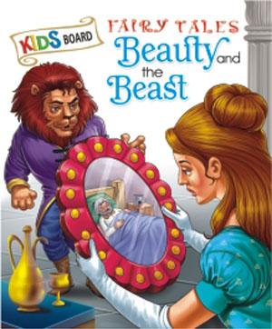 Kids Board Fairy Tales Beauty & the Beast