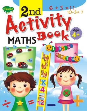 2nd  Activity Book Mathes (4+)