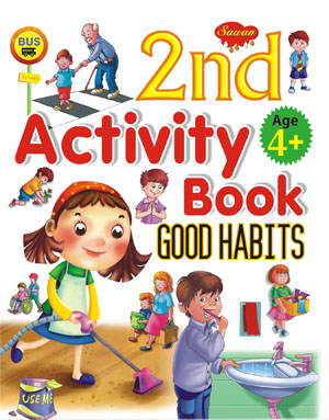 2nd  Activity Book Good Habit (4+)