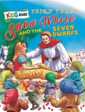 Kids Board Fairy Tales  Snow White And Seven Dwarf