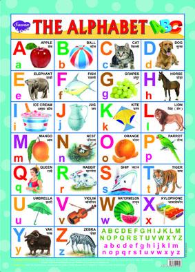 The Alphabet (Chart 43x60)