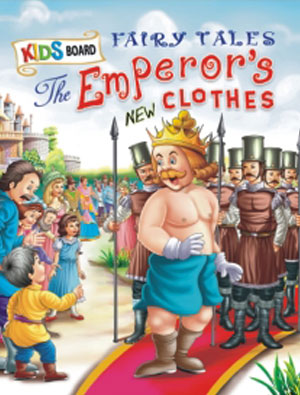 Kids Board Fairy Tales  The Emperor's New Clothes