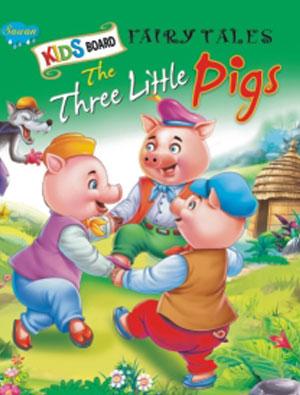 Kids Board Fairy Tales  The Three Little Pigs