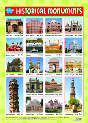 Historical Monuments  (Chart 43x60)