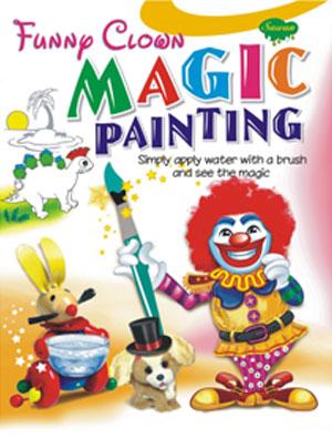 Funny Clown Magic Painting
