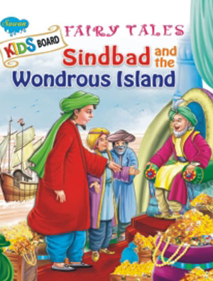 Kids Board Fairy Tales sindbaad and the wondrous I