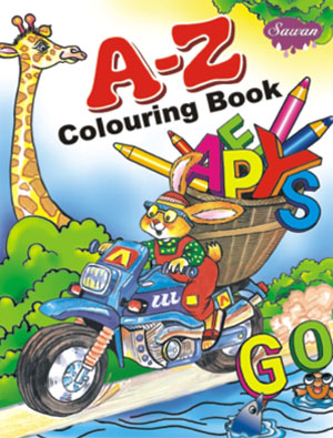 A to Z Colouring Book