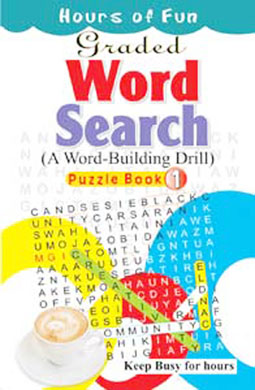 Graded Word Search Puzzle Book-1