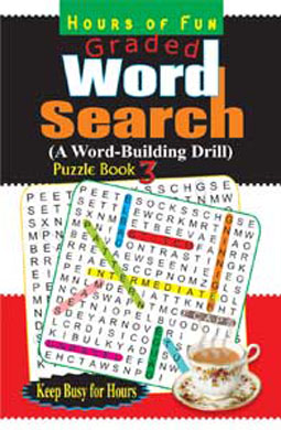 Graded Word Search Puzzle Book-3
