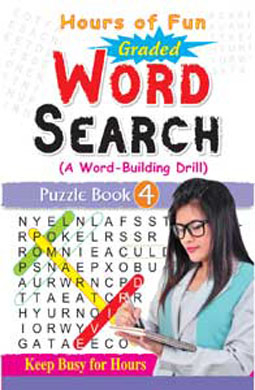 Graded Word Search Puzzle Book-4