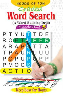 Graded Word Search Puzzle Book-5