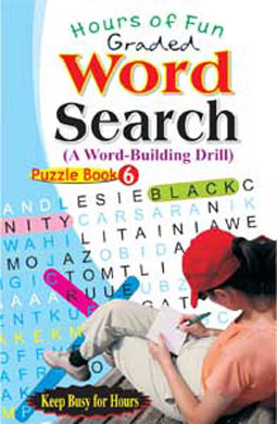 Graded Word Search Puzzle Book-6