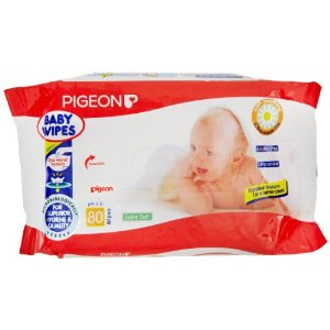 BABY WIPES CHAMOMILE 80 SHEETS
