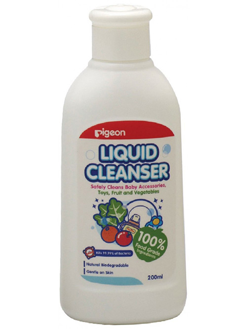 LIQUID CLEANSER FOR NURSING PRODUCTS, 200ML