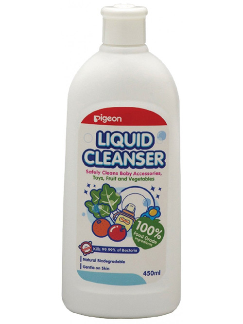 LIQUID CLEANSER FOR NURSING PRODUCTS, 450ML