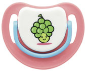 SILICONE PACIFIER STEP 2, GRAPES