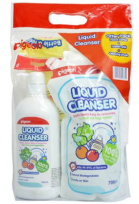 LIQUID CLEANSER WITH BRUSH COMBO PACK
