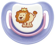 SILICONE PACIFIER STEP 1 LION1