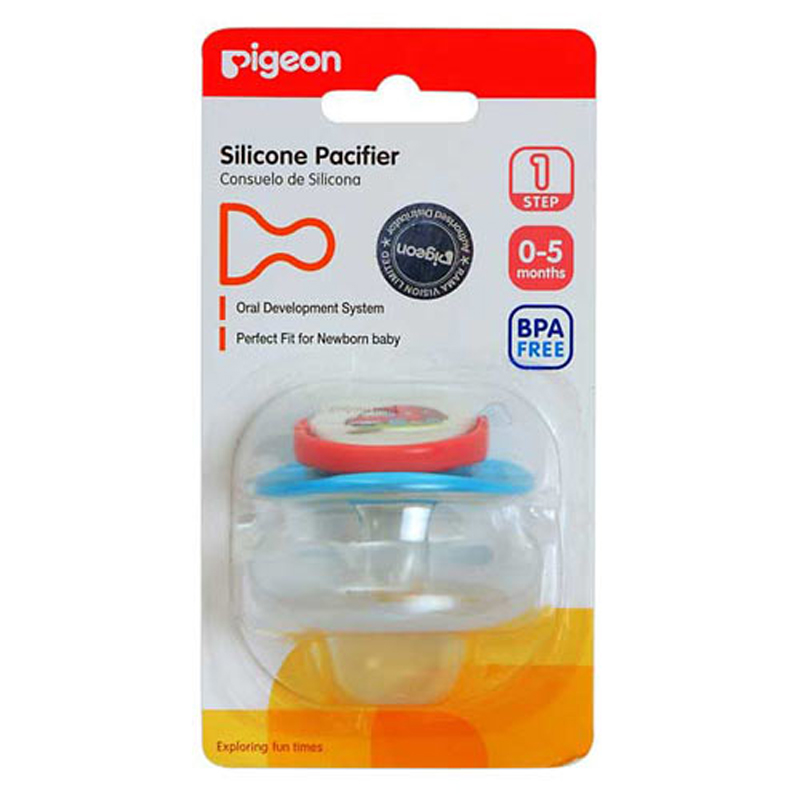 SILICONE PACIFIER STEP 1 RABBIT