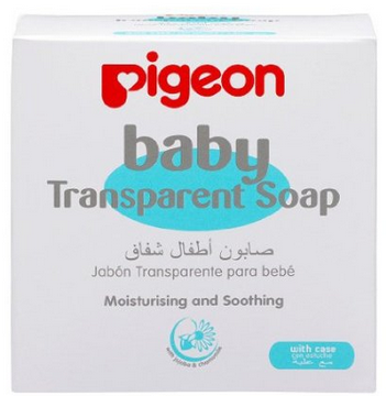 BABY TRANSPARENT SOAP W/CASE, 80G