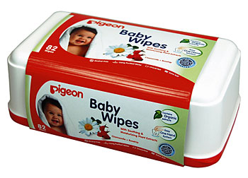 BABY WIPES, CHAMOMILE & ROSEHIP ORGANIC EXTRACTS