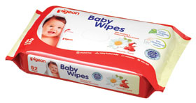 BABY WIPES, CHAM & ROSE 82S, REFILL