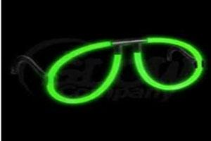 Glow goggles aviator shape