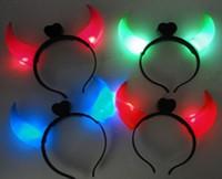 LED Devil horns