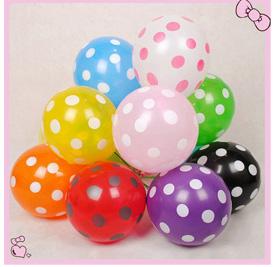 LED Polka Dot Balloons