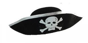 Round pirate hats