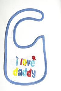 I love daddy bibs 1