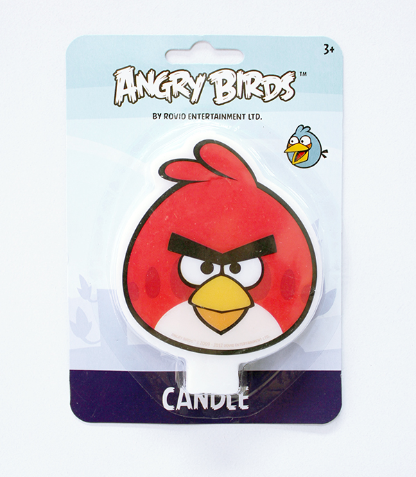 Angry Bird Candle
