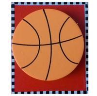 Pen Stand Basket Ball