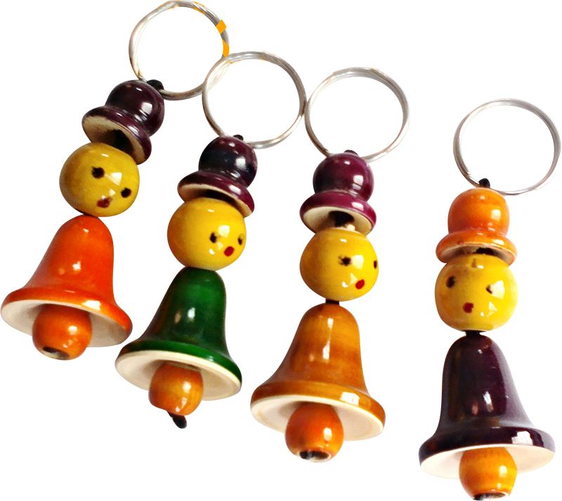 Bell Keychains