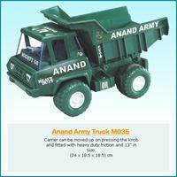 ANAND  ARMY  TRUCK  (PVC)