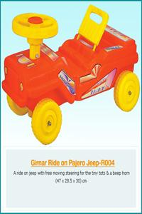 GIRNAR  RIDE  ON  PAJERO  JEEP ( PVC )