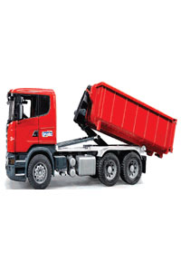 Scania R-Series with Roll Off Container