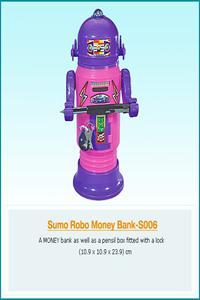 SUMO ROBO MONEY BANKs