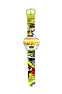 green and yellow color watch BEN-DG-0106