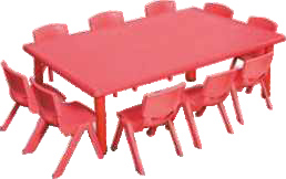 Big Rectangle Table