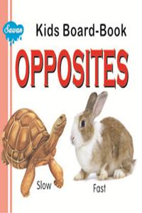 Kids Board Book Opposits